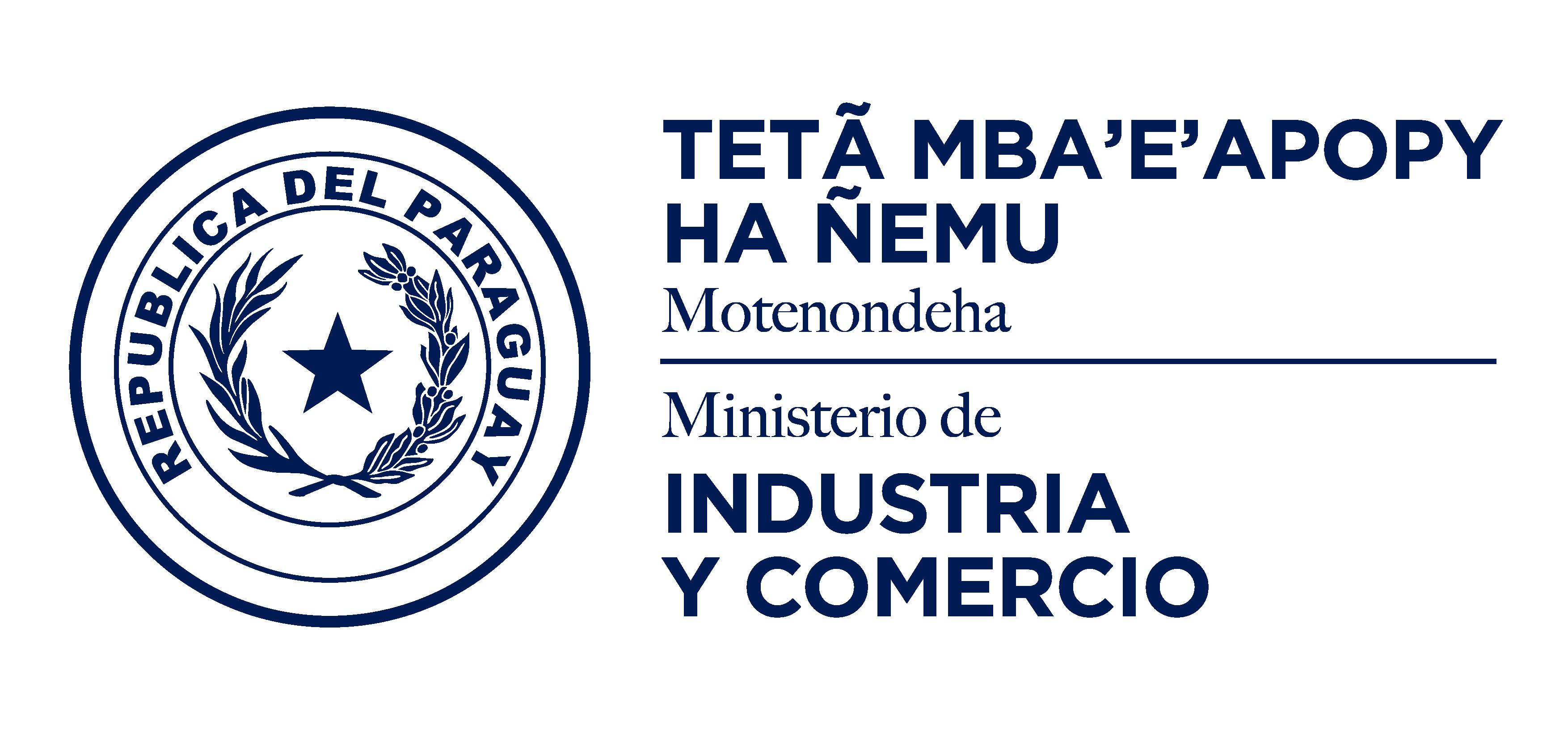 Logo Ministerio de Industria y comercio Paraguay